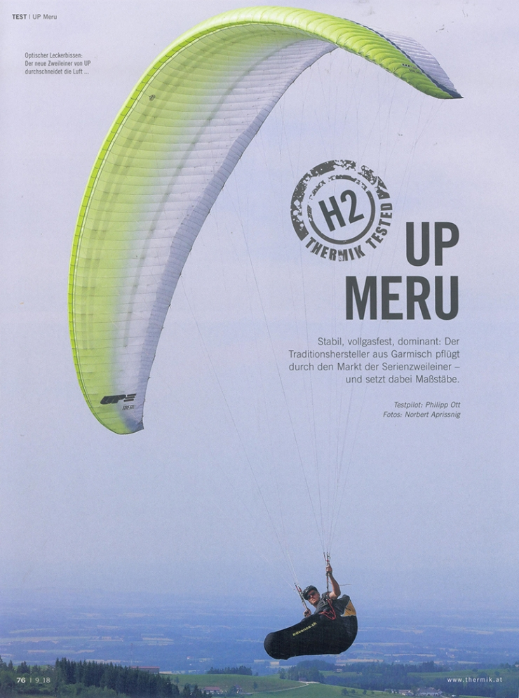 Thermik Magazin reviews the Meru