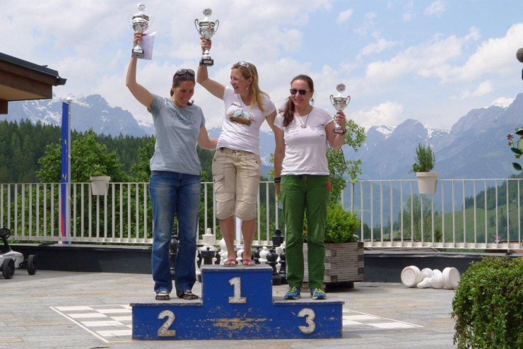 UP's Annalena Hinestroza new female German Champion!