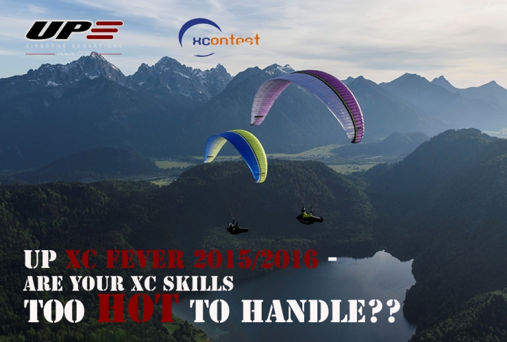 UP XC Fever 2015/16 - win a UP paraglider!
