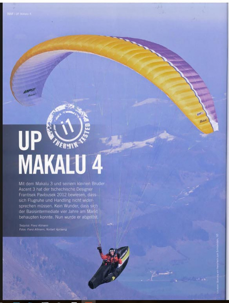 "Our Makalu 4 reviewed - ""...a terrific wing!"""