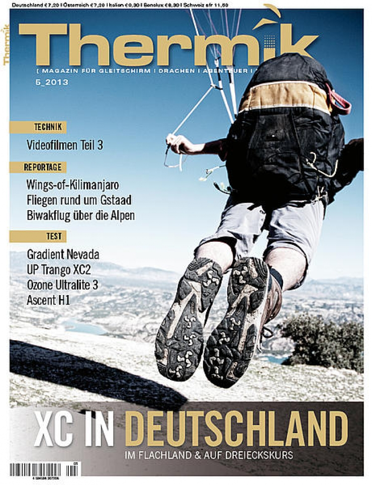 Trango XC2-Test im April THERMIK-Magazin