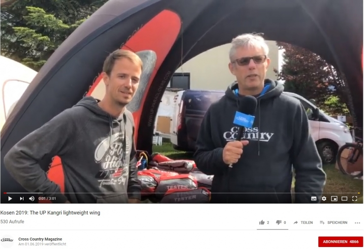 News from the Super Paragliding Testival Kössen
